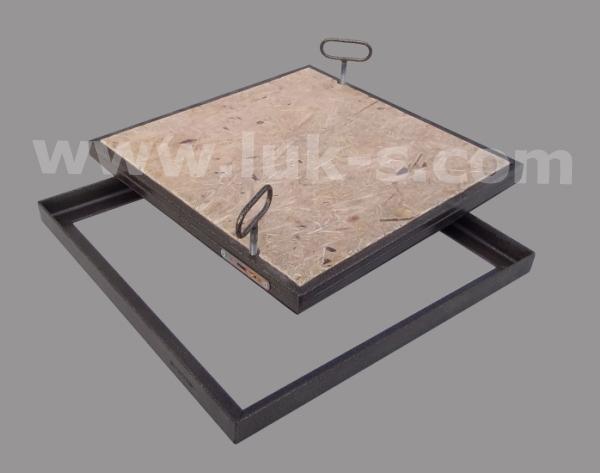 Скрытый люк в полу под плитку